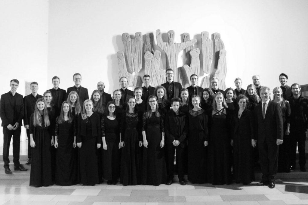 Bild des Kammerchors der HMDK Stuttgart