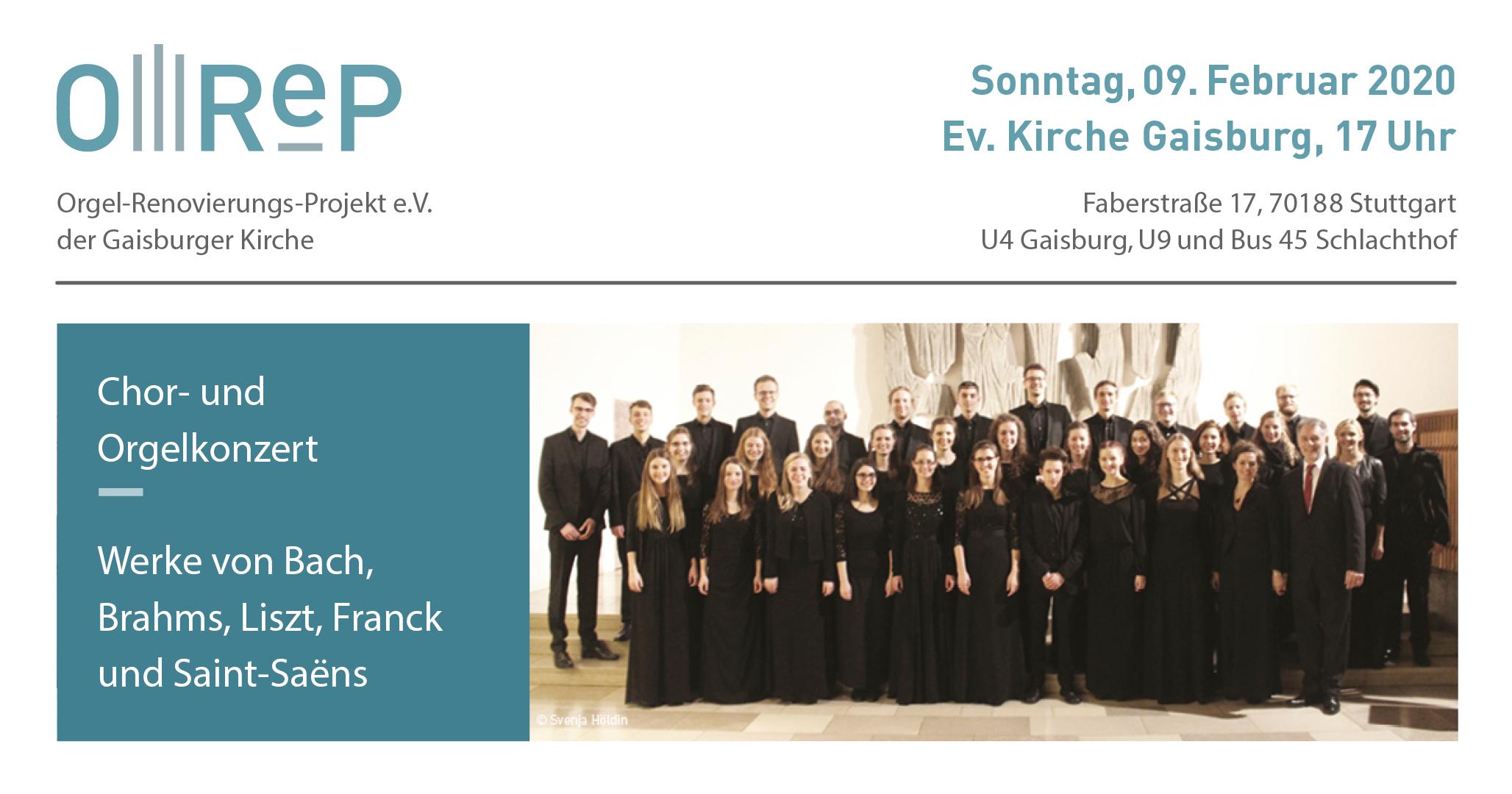 Bild vom Plakat zum OReP Konzert Februar 2020