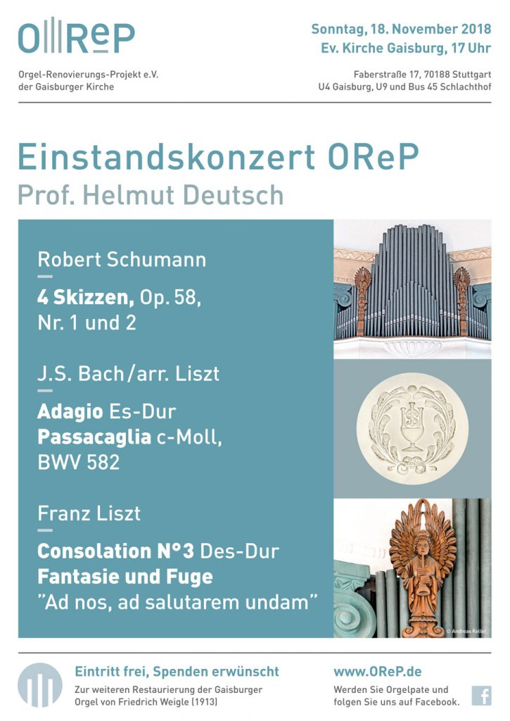 Konzert zum Einstandskonzert OReP 2018